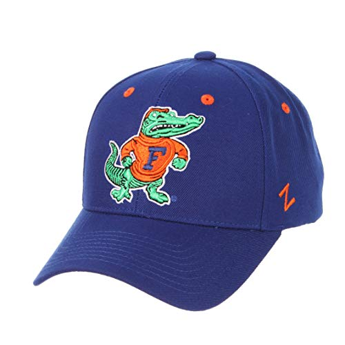 Zephyr University of Florida Gators UF Top Royal Blue Top Competitor Snapback Adjustable Mens/Womens/Youth Hat/Cap - Royal Blue Gator