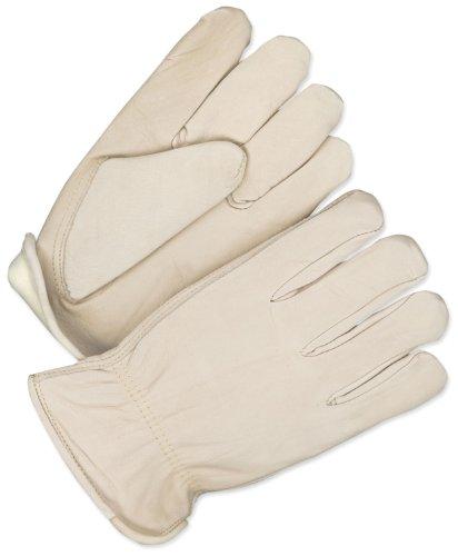 BDG 20–9-374-m Winter gefüttert Rodeo King Leder Roper Handschuh, mittel (Leder Roper)