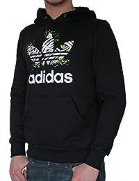 sweat à capuche Adidas Originals homme noir