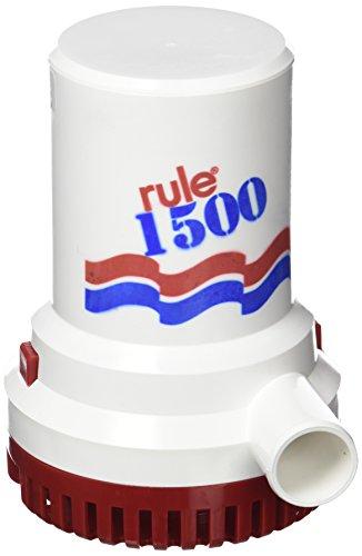 Rule 29–02Heavy Duty Pumpen-Schmutzwasserpumpe Wasserdicht, 12V, 1.500g/h, 5.670L/H, 28mm