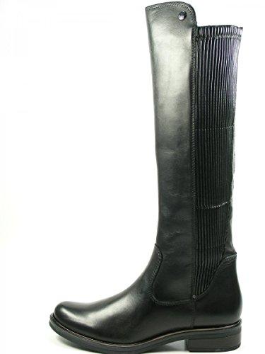 Caprice 9-25515-29 Schuhe Damen Stiefel Stretch Langschaft Schwarz