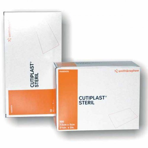 Cutiplast steril Smith & Nephew 7,2 x 5 cm Wundverband Wundverschlussmittel Wundverschluss Wundverband steril wundverband selbstklebend - Sterile Wundverschluss