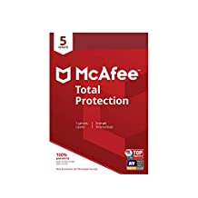McAfee Total Protection 5 Device (Code in a Box). Für Windows Vista/7/8/8.1/10/MAC/Android/iOs