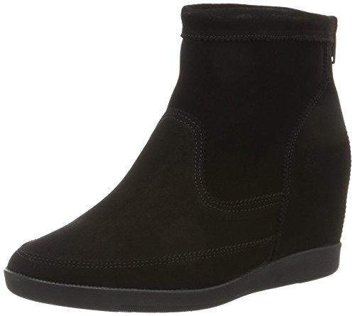 BULLBOXER Low Boots, Stivali donna, Nero (Nero (nero)), 36