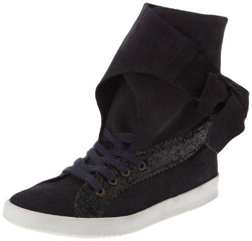 Manoush Bask, Baskets mode femme - Noir (Bleu Nuit/Noir), 36 EU Noir (Bleu Nuit/Noir)