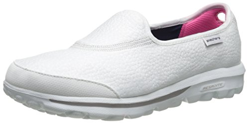 Skechers Go WalkAspire, Scarpe da Ginnastica Donna Bianco (Wht)