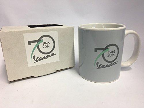 Preisvergleich Produktbild Vespa Tasse, 70 Jahre Vespa, grau