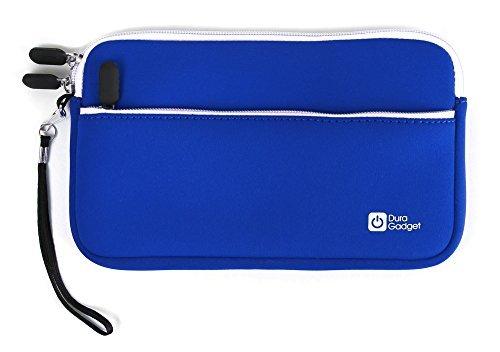DURAGADGET Funda Azul De Neopreno para Cefatronic Clan Tablet Edición Motion | Resistente Al Agua - con Cierre De Cremallera