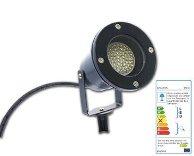 LED Gartenspieß Erdspieß Außenstrahler 230V 3W von EVOLUTION bei Lampenhans.de