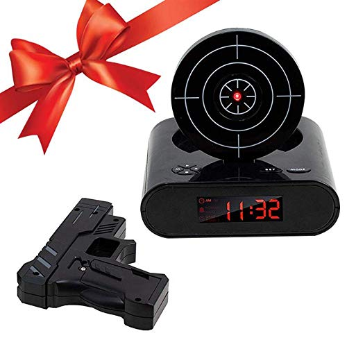 RENQIAN Pistola Despertador Gadget Objetivo Disparo