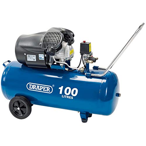 DRAPER 35396 100 L 230 V 2,2 kW (3HP)-Air Kompressor -