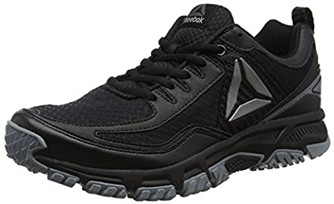 Reebok Ridgerider 2.0, Chaussures de Trail Homme, Noir (Black/Asteroid Dust/Silver), 43 EU