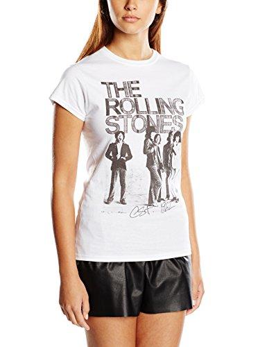 Rolling Stones The Women's EST 1962 Group Short Sleeve T-Shirt