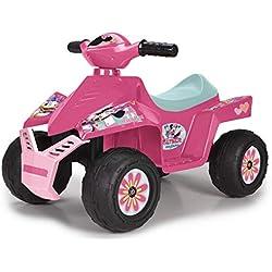 FEBER - Quad Racy Minnie Happy Helpers 6V, pour garçons et filles de 18 Mois à 3 ans (Famosa 800012022)