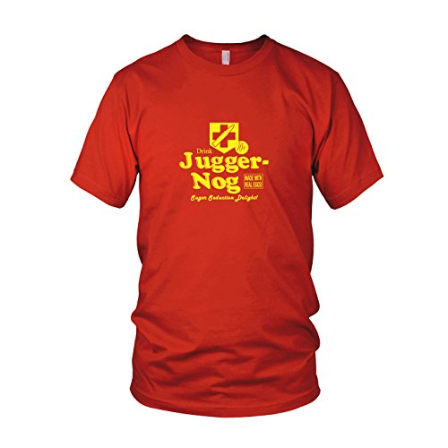 Preisvergleich Produktbild Juggernog - Herren T-Shirt, Größe: M, Farbe: rot