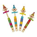 Small Foot Company 6140 - Flöten - Clowns Propeller, 4-er Set