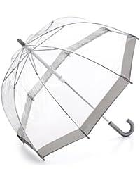 Silver Trim Funbrella -See - Through Child's Umbrella