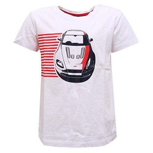 7641r-maglia-bimbo-aston-martin-mucio-bianco-rosso-blu-shirt-kid-7-years