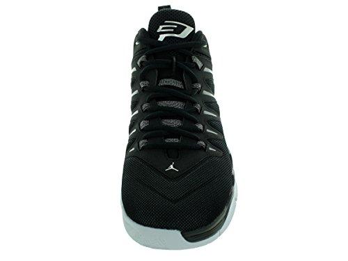 Nike Jordan CP3.IX, Chaussures de Sport-Basketball Homme, 41 EU Noir / Argent / Gris (Noir / Metallic Silver-Anthrct)