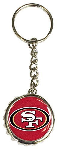 (Pro Specialties Group NFL Schlüsselanhänger mit Flaschenöffner, rot)