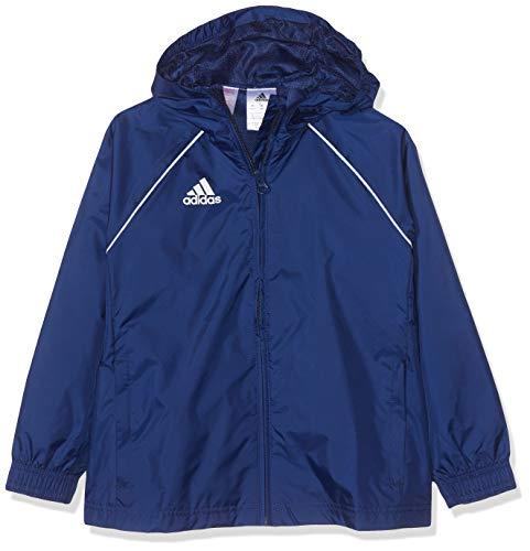 adidas CORE18 RN JKT Y, blau(dark blue/White), 128