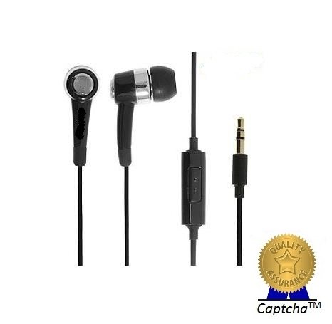 Samsung :) Smiley Compatible Certified AAA Grade Stereo Earphones with High Treble and Bass Performance (with mic)