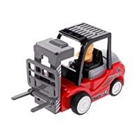 WEISHAZI Funny Engineering Car with Engineer Dump Truck Model Tractor Toy Pull Back Vehicles Boys Toys Gift