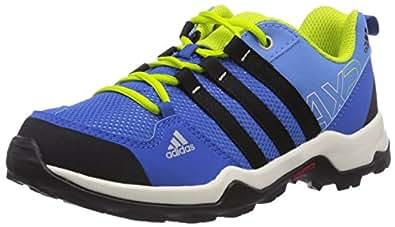 adidas Performance AX2, Unisex-Kinder Trekking- & Wanderhalbschuhe, Blau (Lucky Blue S15/Core Black/Semi Solar Yellow), 31 EU (12.5 Kinder UK)