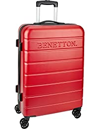 UCB ABS 68 cms Red Suitcases (0IP6HAB24E01I)