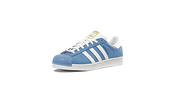 Buy adidas Originals Men's ' Superstar Trainers Ray US13 Blue at ...