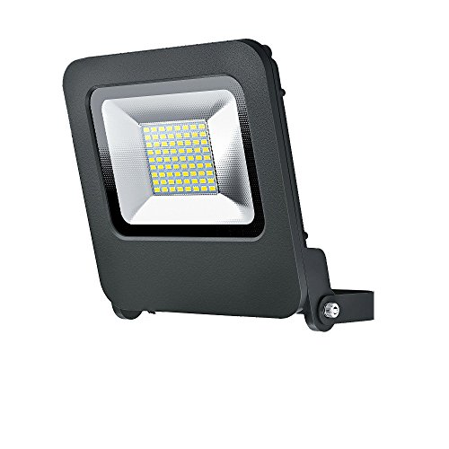 OSRAM - Projecteur Extérieur LED ENDURA FLOOD - Etanche IP65 - 50W - 4000 lumen - Orientable 180° - Blanc chaud 3000K - Gris Anthracite