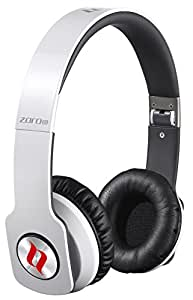 Noontec Zoro HD True Sound Professional Headphones with Inline Mic and Answer/End Button - White