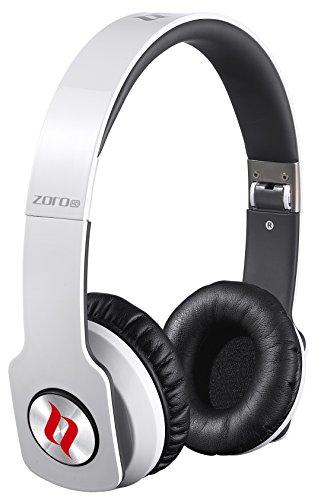Noontec Zoro HD - Auriculares de diadema cerrados (con micrófono) blanco