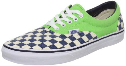 Vans  Era, baskets - skateboard mixte adulte Vert (Van Doren Che)