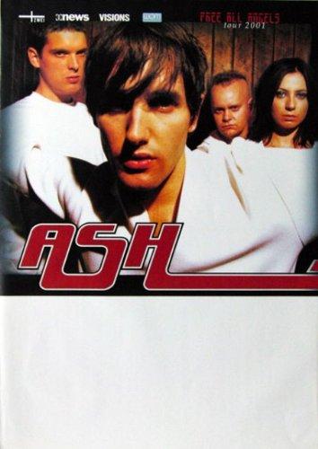 ASH - 2001 - Tourplakat - Free all Angels - Tourposter - Concert