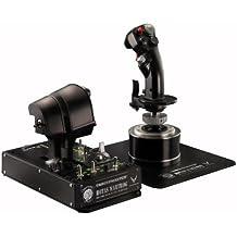 Thrustmaster Hotas Warthog Joystick et Manette pour jeu PC simulation de vol - Noir