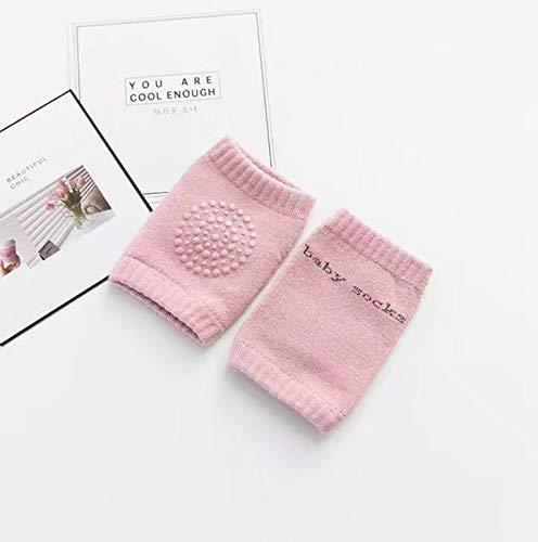 Baby Kniebandage 1 Paare Verstellbarer Elastische Kinder Knieschoner Knie Sleeve Krabbelschoner anti-Rutsch Baby Knieschützer Knie Schutz Kniegelenkbandage 8-36 Monate