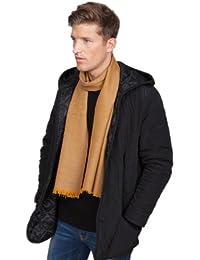 Heritage Herringbone Handloom Merino Wool Scarf