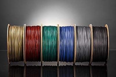 Glitzer-Filament 1.75 PLA 1kg für deinen 3D-Drucker - Hartkartonspule - Premium Qualität aus Holland