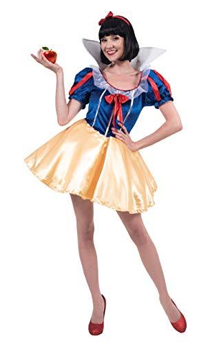 Schneewittchen Kostüm Karneval Fasching Mottoparty Verkleidung Damen Small