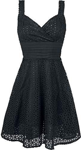 Voodoo Vixen Billie Blush Kleid schwarz M