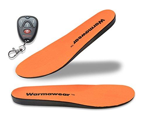 WarmawearTM beheizbare, Wiederaufladbare Schuheinlagen mit Fernbedienung (Groß)