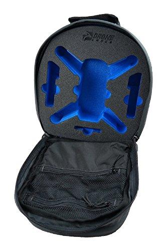 DroneCases Yuneec Breeze Drohnen Rucksack, kompakt und leicht mit viel Platz für Kopter und Zubehör, schwarz