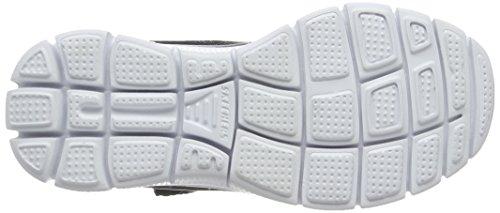 Skechers Flex Advantagemaster Mind, Baskets Basses garçon Noir (Bkw Noir/Blanc)