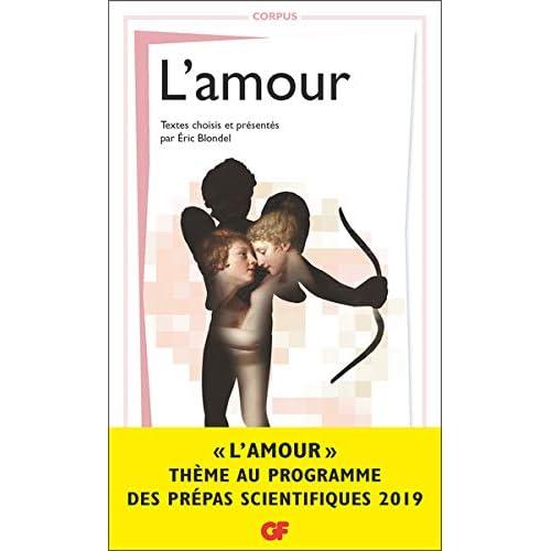 Corpus - L'Amour - Prépas scientifiques 2018-2019