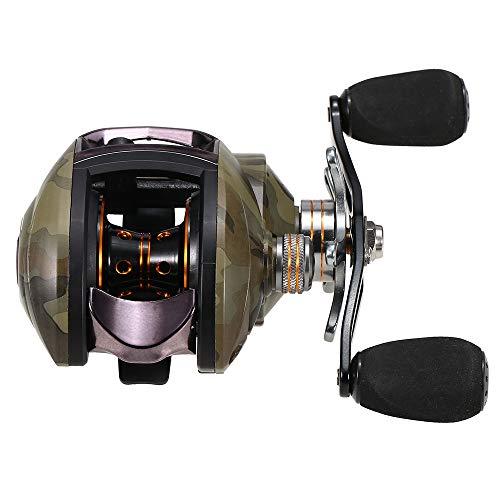 Lixada Ligero de Alta Velocidad 8.1:1 relación de Engranajes BAITCAST Carrete de Pesca 12 + 1 rodamientos de Bolas baitcasting Pesca Carrete Baitcaster Tackle