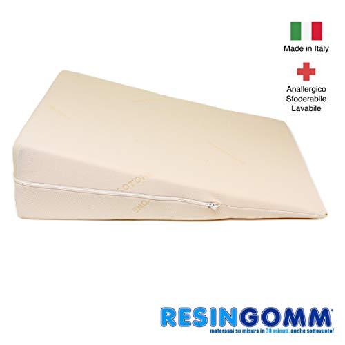 59ae0ceaa0cd94 Cojín Anti Reflujo Gástrico Esofageo para adultos. Sfoderabile y Lavable,  de alta calidad Resingomm