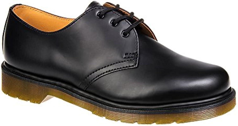 Dr. Martens 1461 PW - Zapatos de cordones de Piel para hombre Negro negro