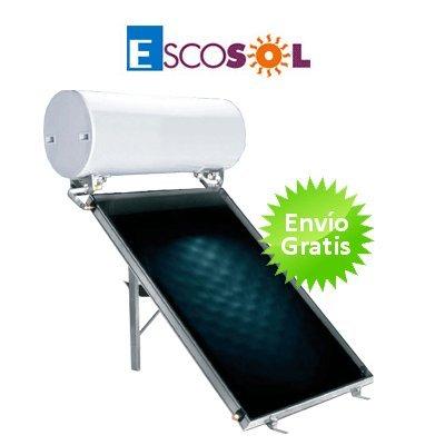 Kit termosifón con captadores planos selectivos Escosol Star V15 150 2.0 Selectivo