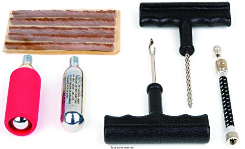 Tip Top - Kit Reparation Tubelless A Meche + Cartouches D'Air